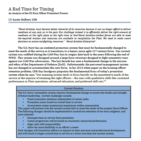 A Bad Time for Timing White Paper