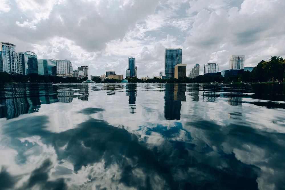 Lake Eola in downtown Orlando.