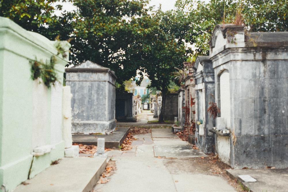 A graveyard in New Orleans.