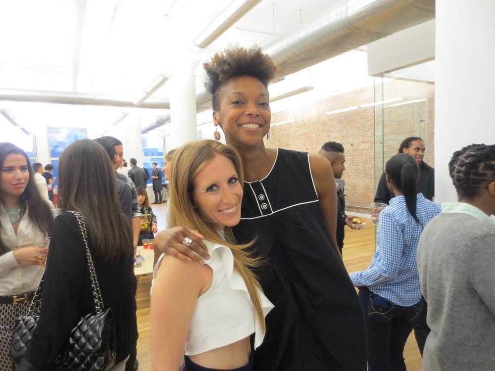 With Amanda Farbish of Moda Operandi.