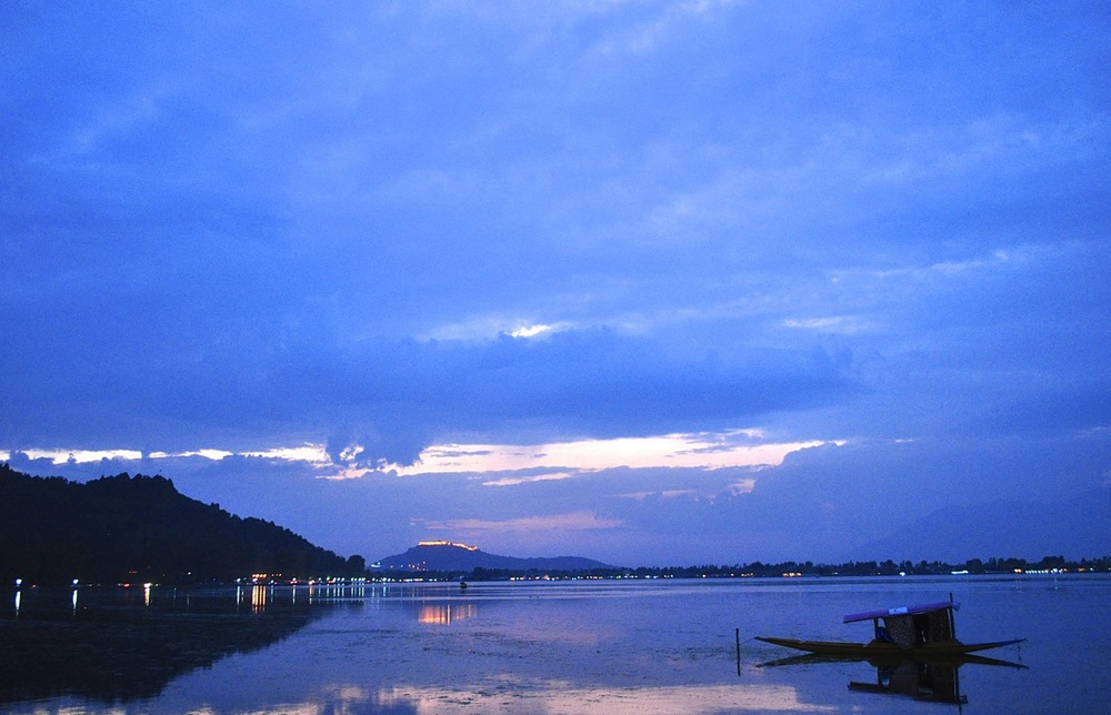 When time stood still! Dal. Srinagar. India.