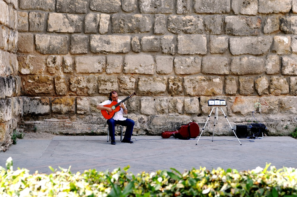 Music can never be confined between walls. Seville. Spain.