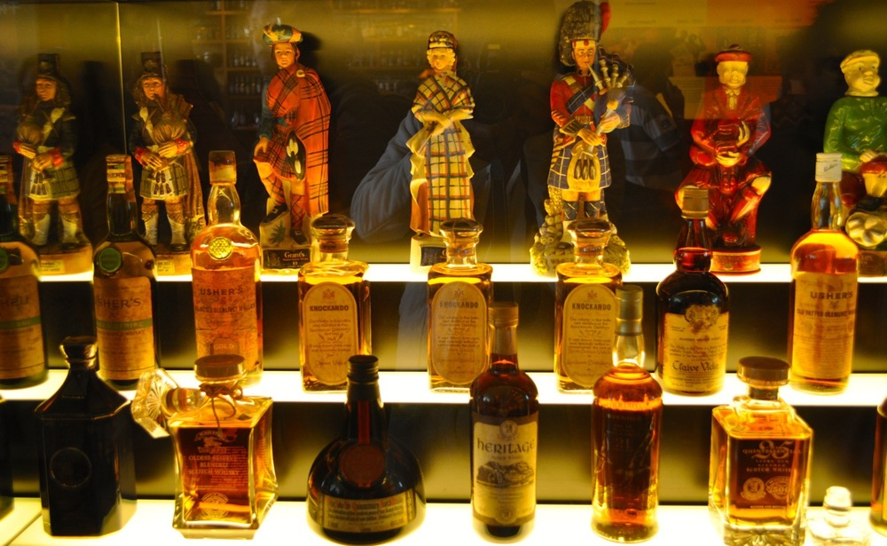 Scotch and Whisky Museum. Edinburgh. Scotland.