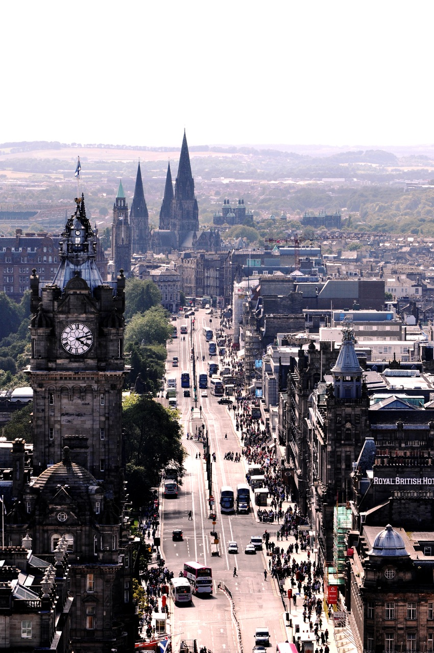 Vintage. Classic. Edinburgh. Scotland.