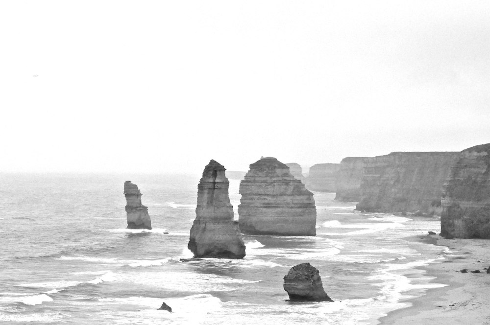 Standing the test of time. Twelve Apostles. Australia.