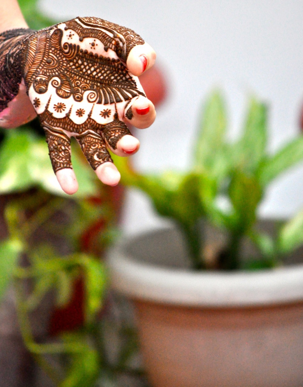 The Bridal Mehendi!