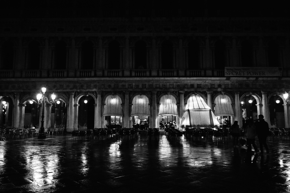 Midnight in Venice.