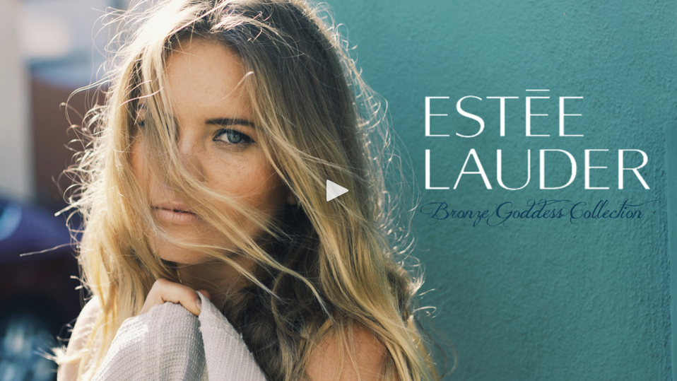 BRUNA SCHMITZ BEAUTY SPOTLIGHT FOR ESTÉE LAUDER'S ESTÉE EDIT