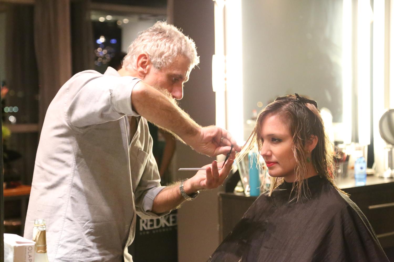 Ric Pipino has a salon in Panama city
