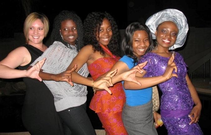 Ladies of Alpha Omega Eta African Sorority, Inc.