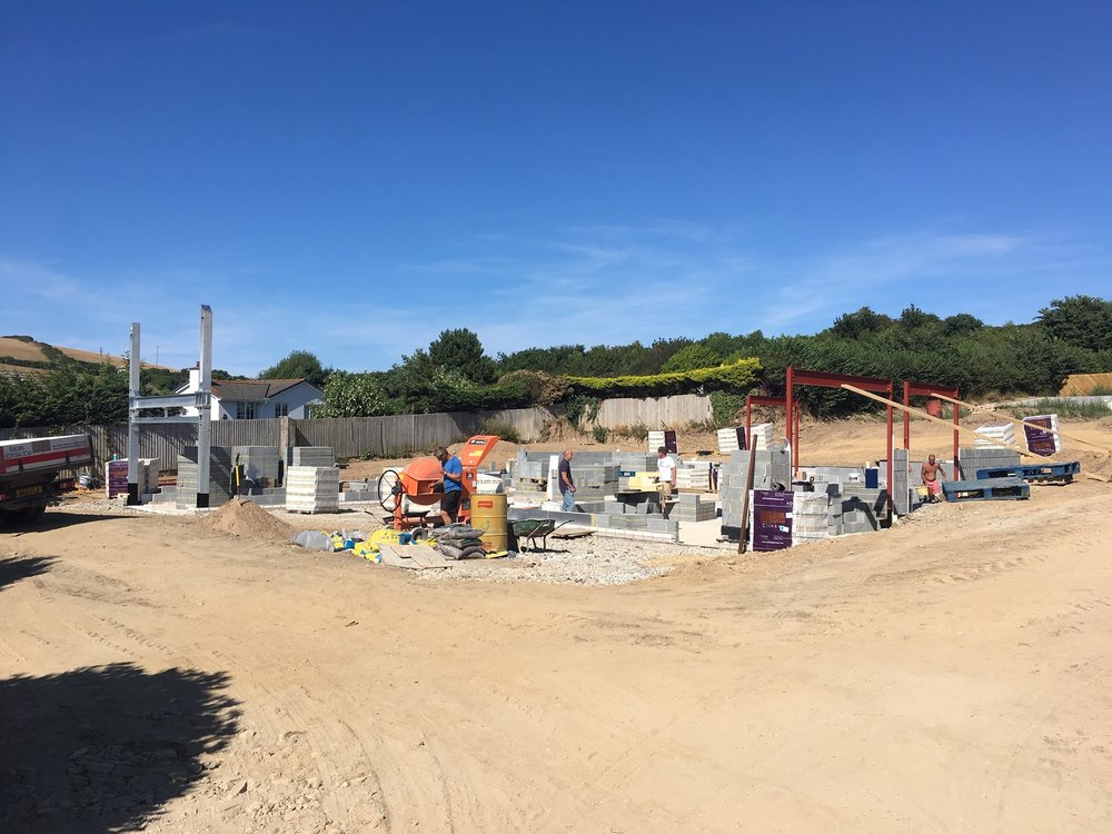 The Croft Construction Update, North Devon