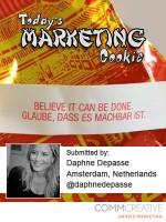 Marketing Cookie Daphne Depasse