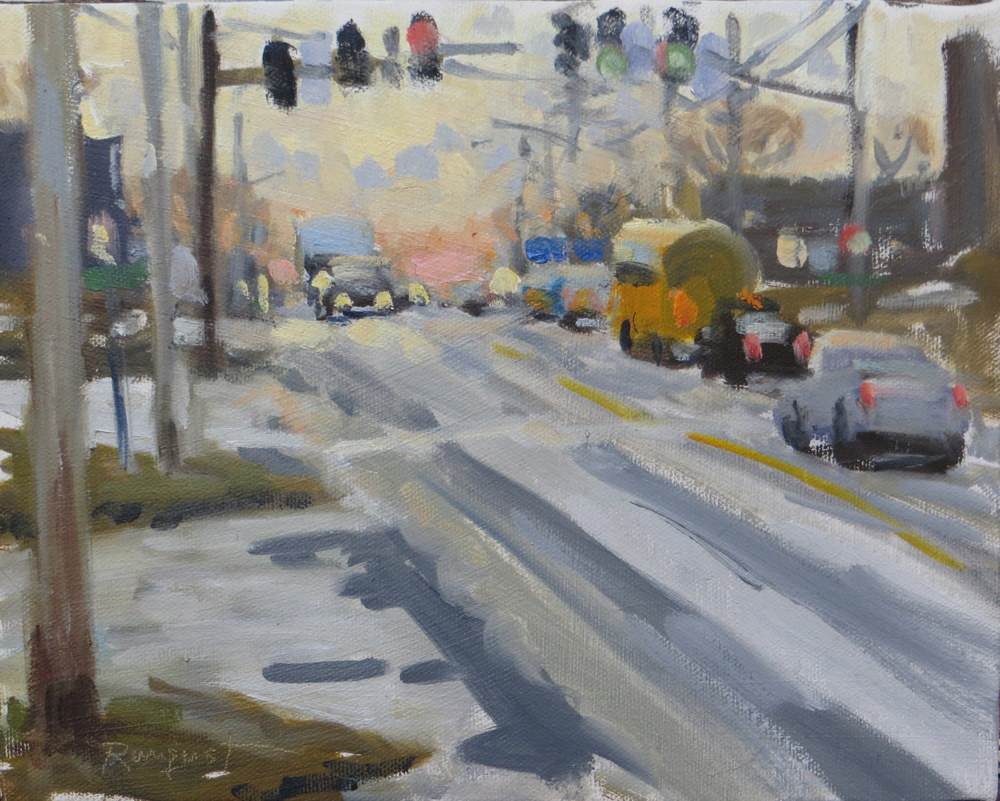 Rockland, January Rush hour