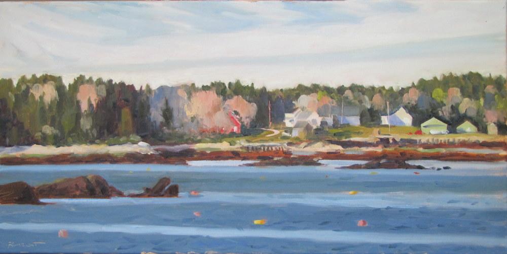 April Across Wheeler Bay