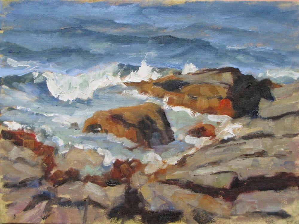 Waves #4 Sebasco