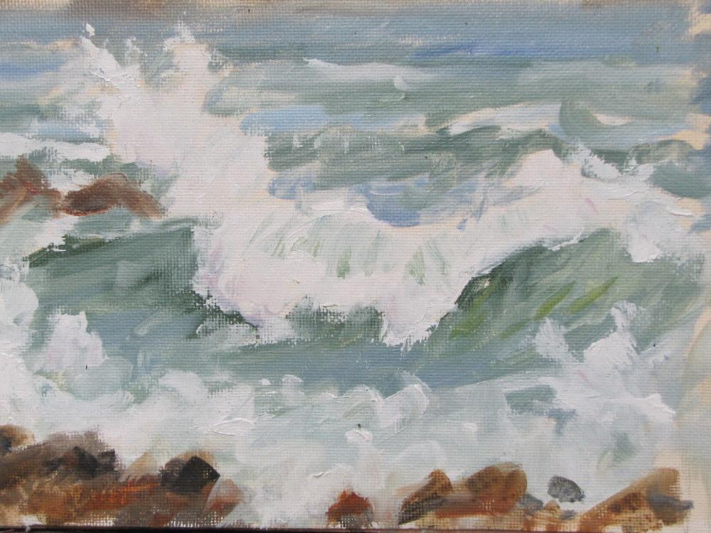 Waves #1, Monhegan