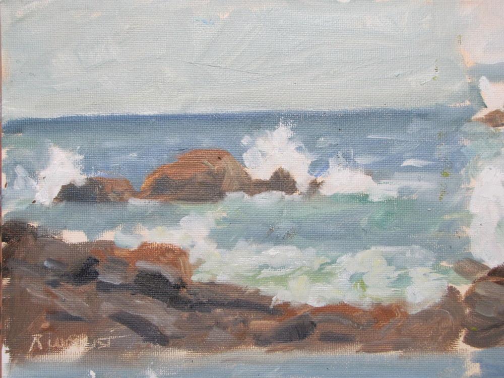 Waves #2, Monhegan