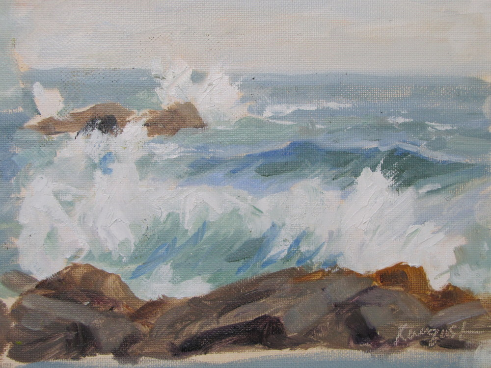Waves #3, Monhegan