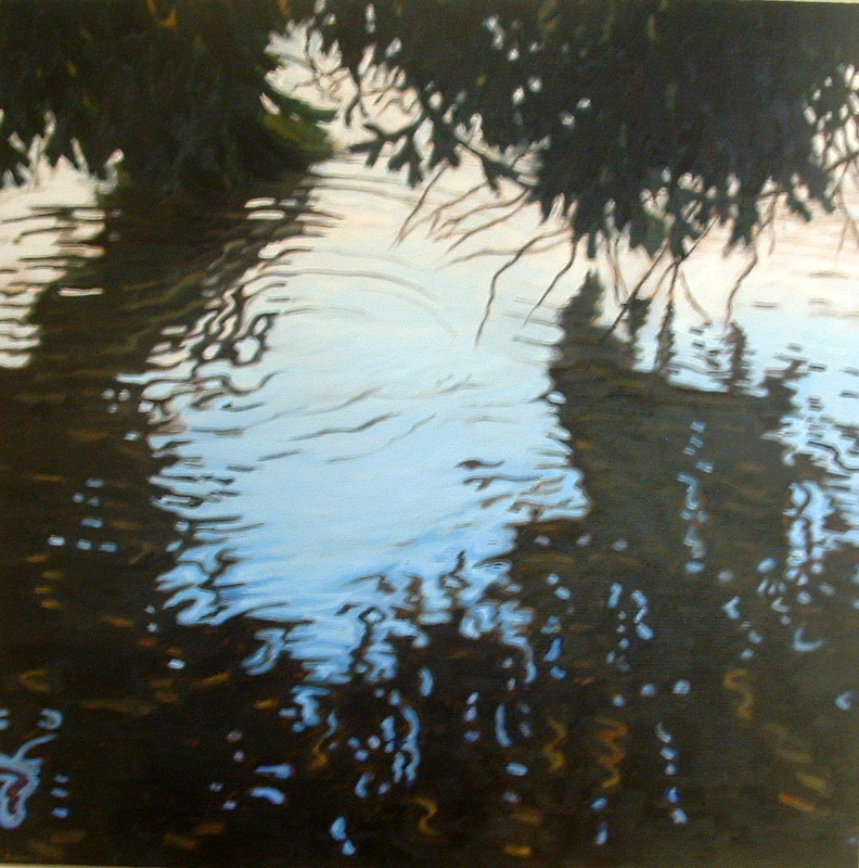 March Flood 4 3x3 2001 oil on wood.jpg