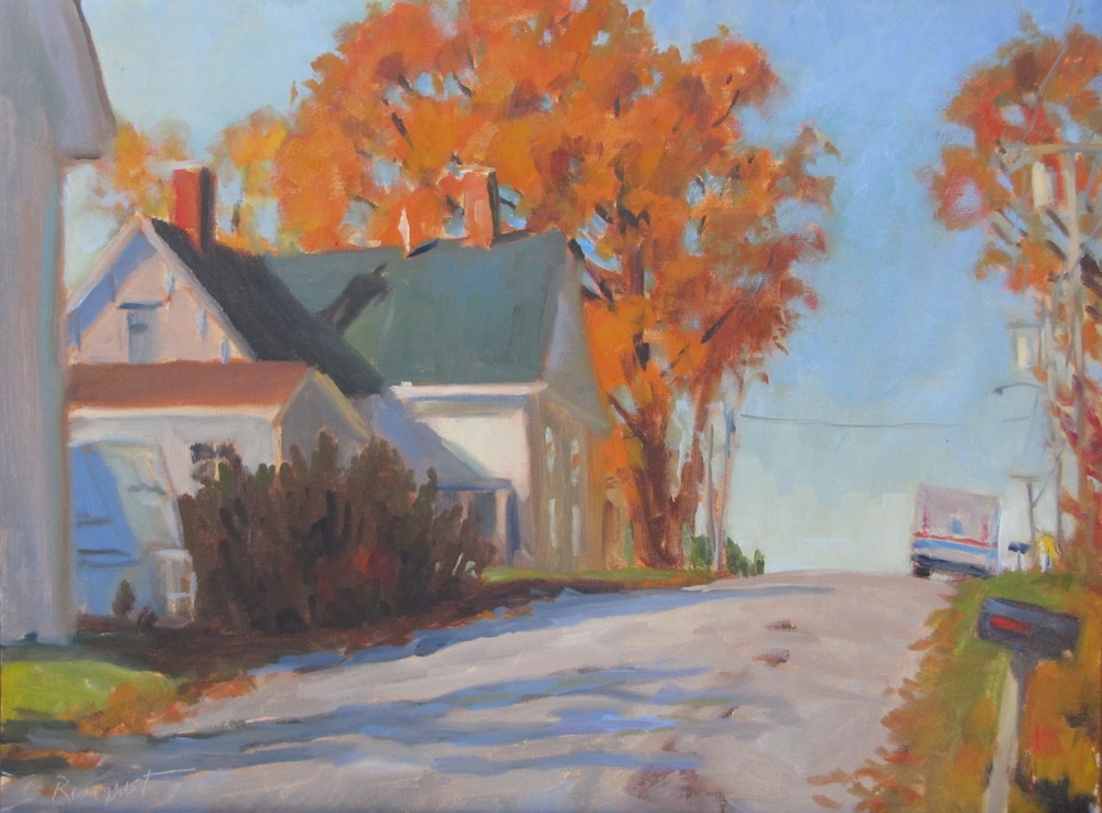 """""""October on Pacific Ave."""""""
