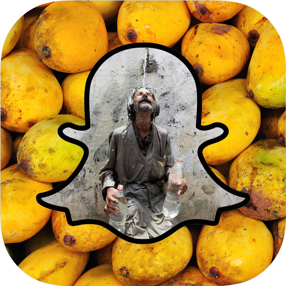 It's mango season in Pakistan. It's also heatwave season, with over 800 deaths so far. Meanwhile Chris Christie starts using snapchat for his presidential campaign.