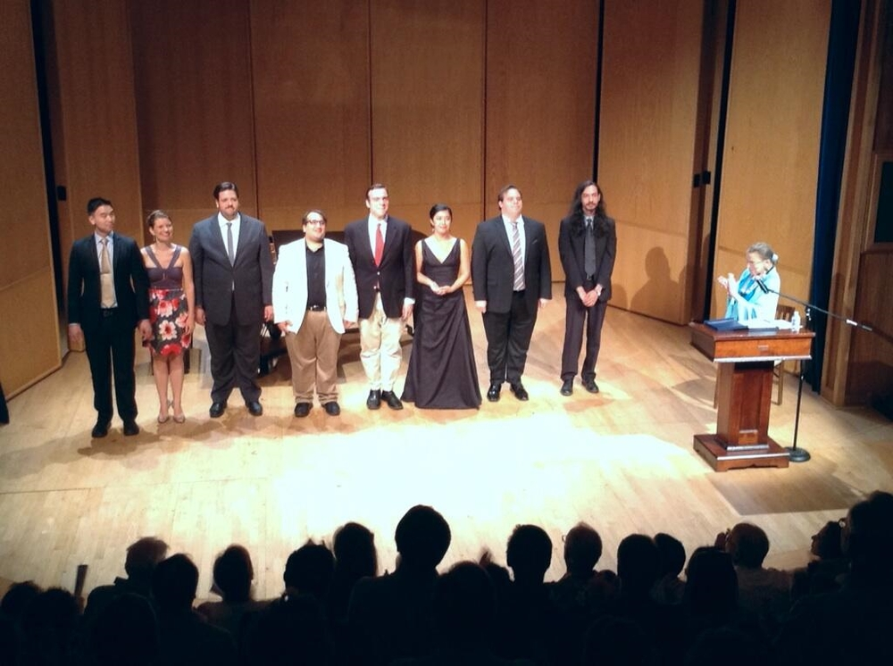 'Scalia/Ginsburg' selections with Justice Ginsburg at the 2014 Castleton Festival