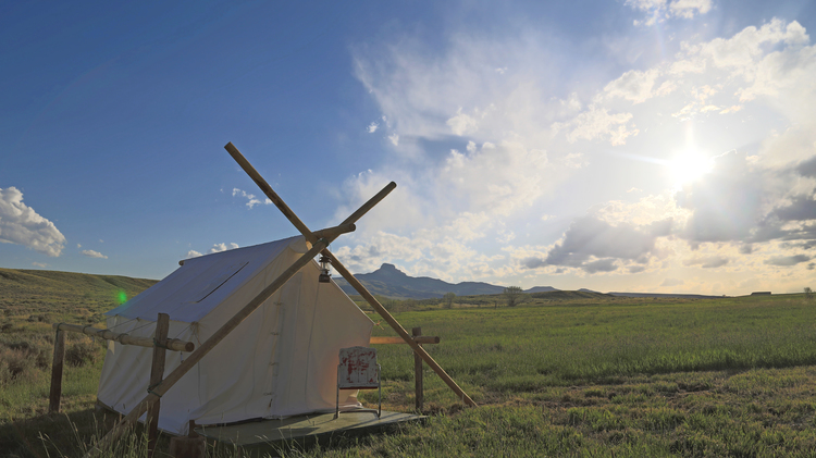 Wall Tents Yellowstone Camping Amp Lodging