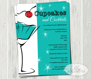 cupcakes and martinis teal and red webjpg