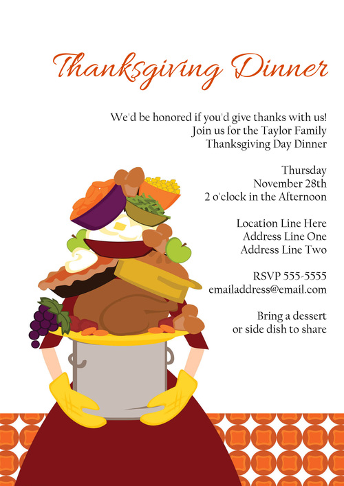 impossible thanksgiving dinner invitation shy socialites