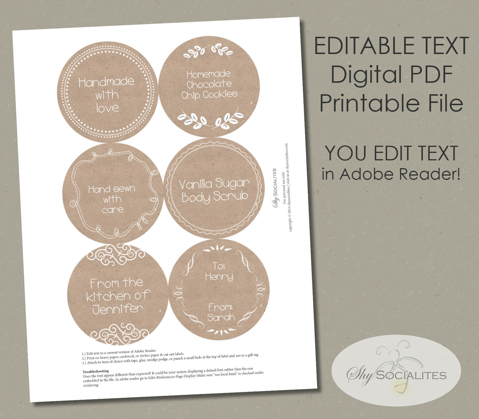 picture relating to Printable Cardstock Tags referred to as Brown Paper 3\