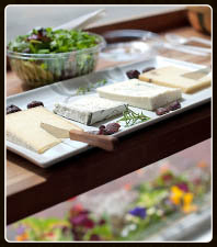 A Cheese Selection at le petit gourmet