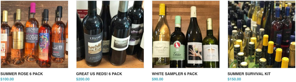 Wine & Beer Packs, too! -