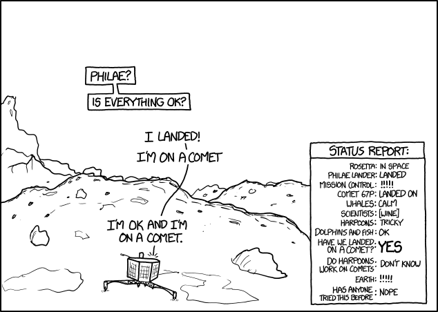 Landing by XKCD