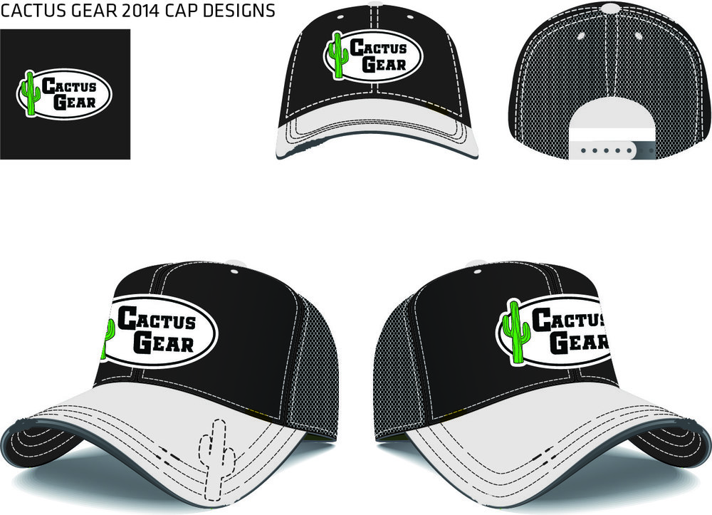 New CG Cap 2014 Black White Logo Baseball Cap.jpg