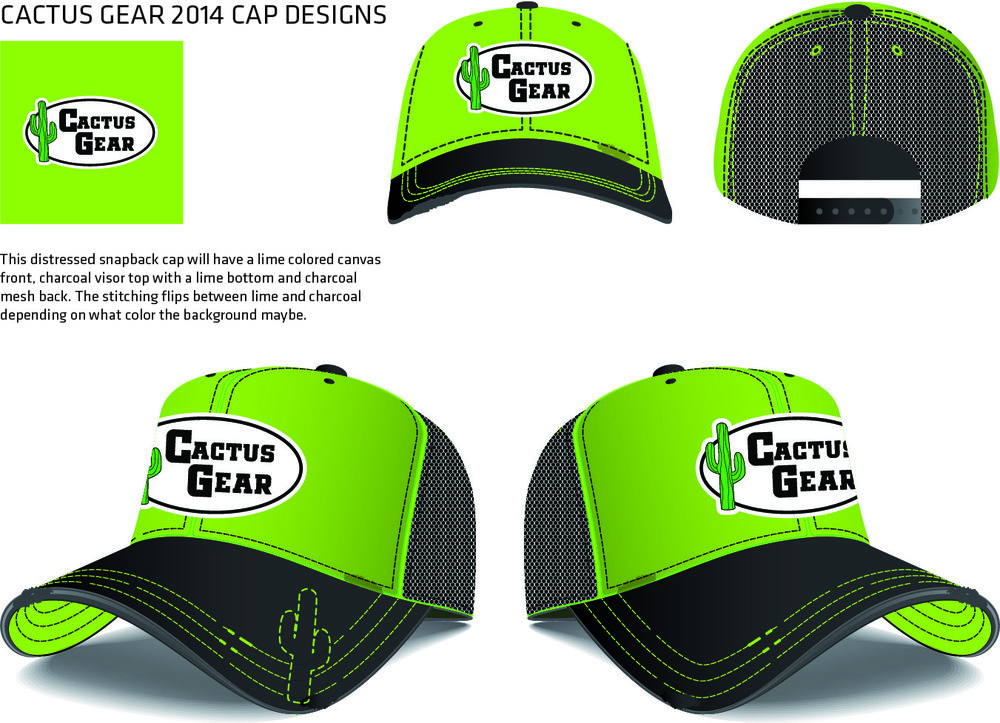 New CG Cap 2014 Lime Green Logo Baseball Cap.jpg