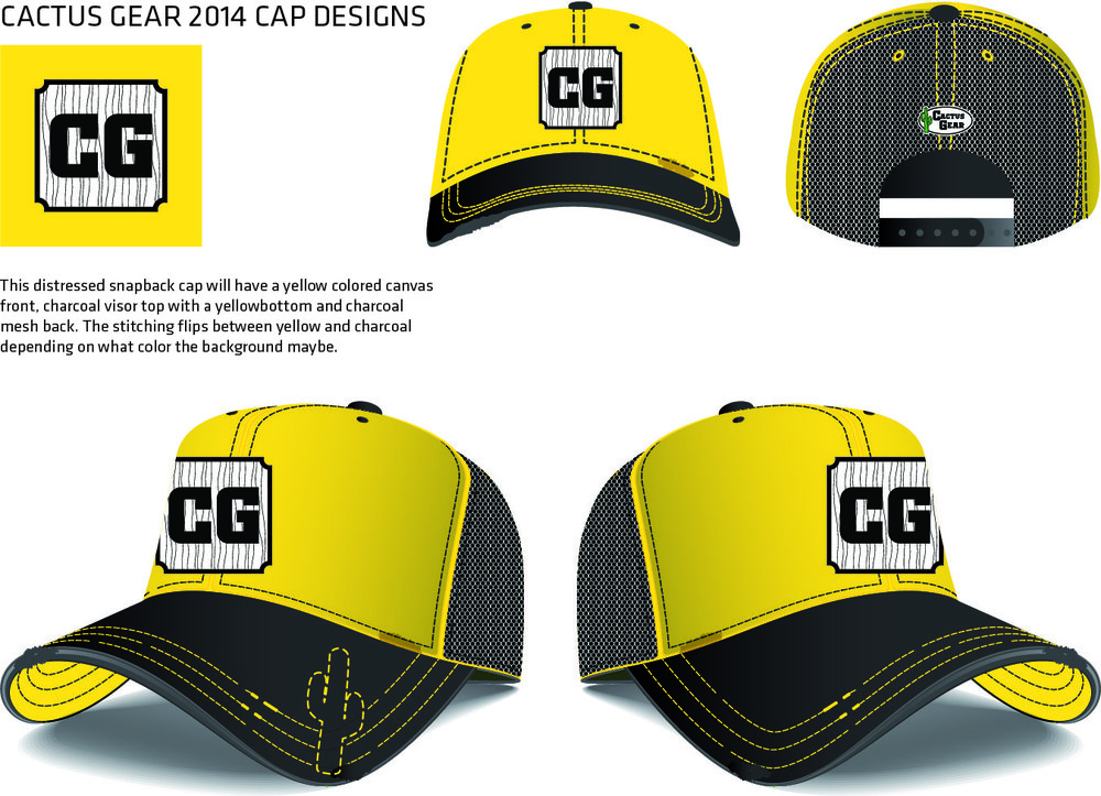 New CG Cap 2014 Yellow CG Baseball Cap.jpg