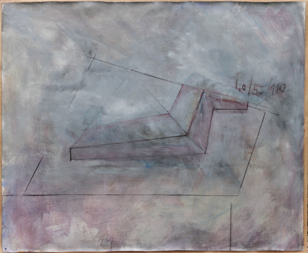 Chaise Longue 2012, 123x152cm, oil on canvas