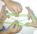 How to do cat's cradle   -- with photographs of each move