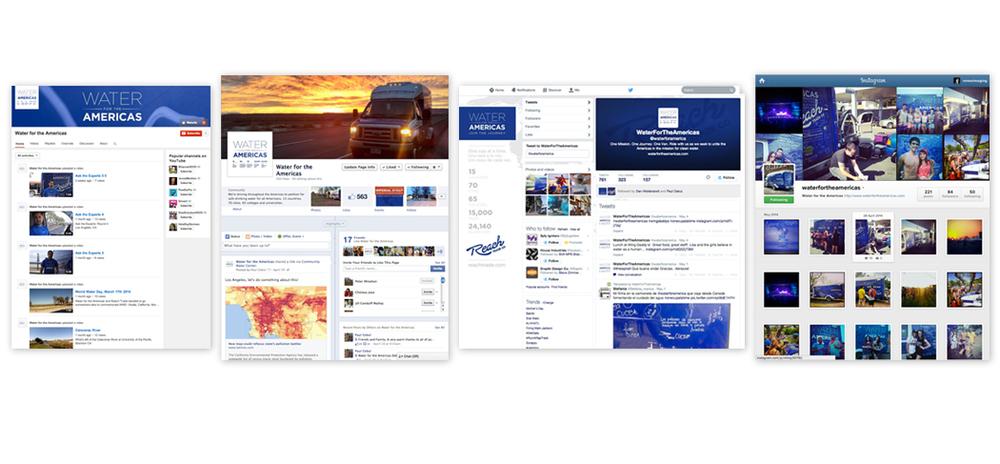 Social media design and copywriting