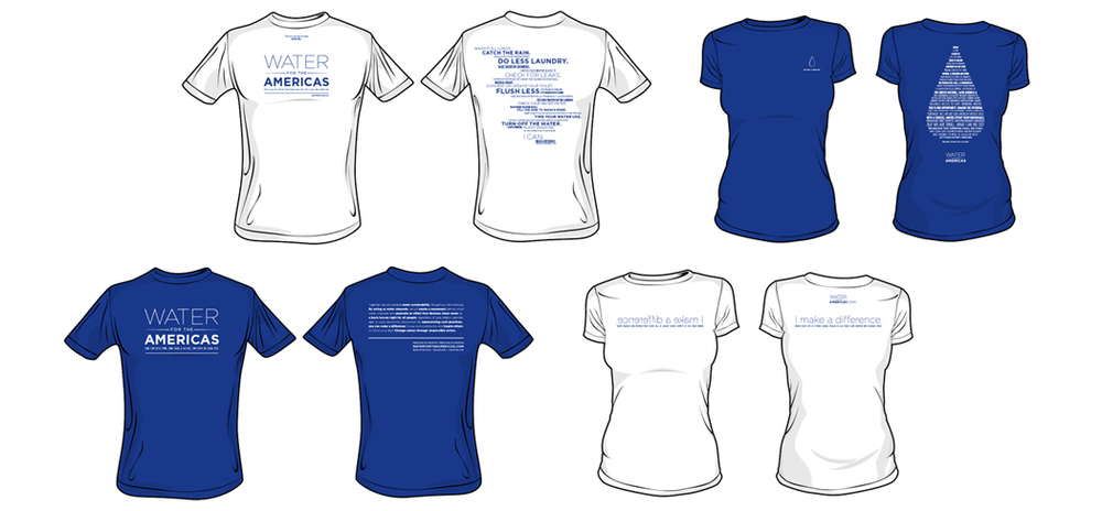 Tee shirt designs and copywriting