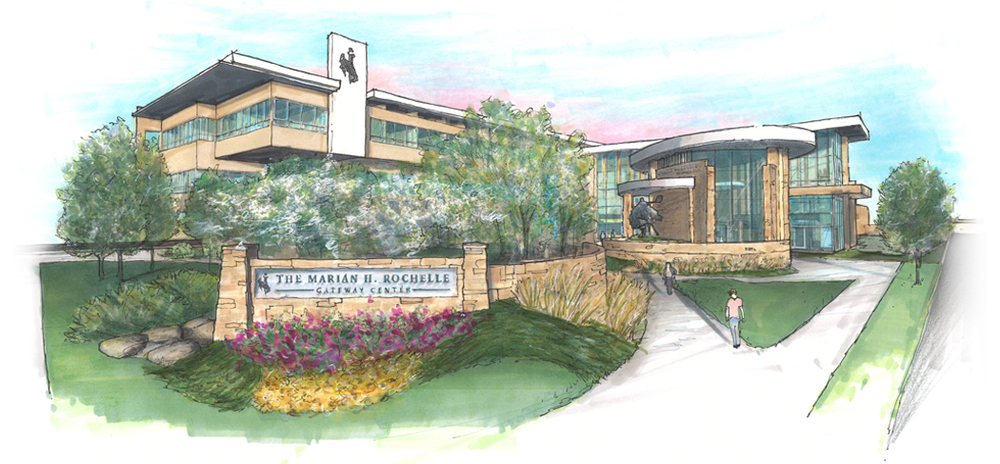 Part of a series of exterior renderings for fundraising