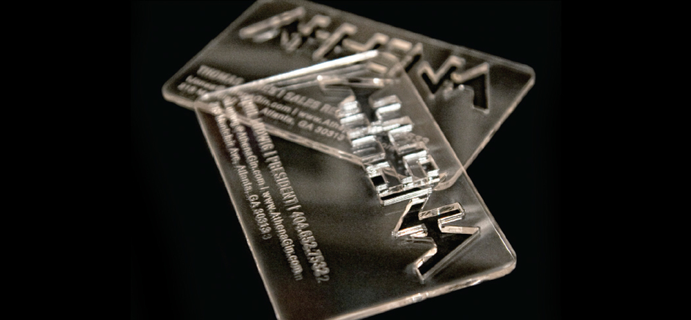 """Ice"" cold business cards  