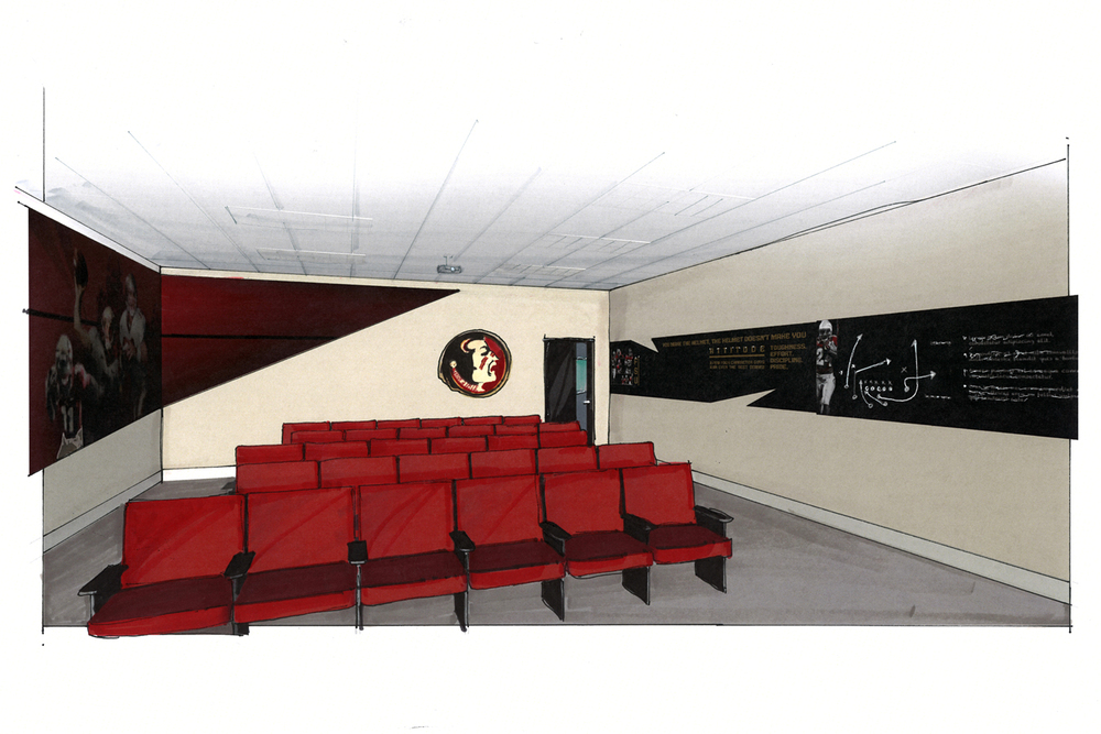 Meeting room concept design
