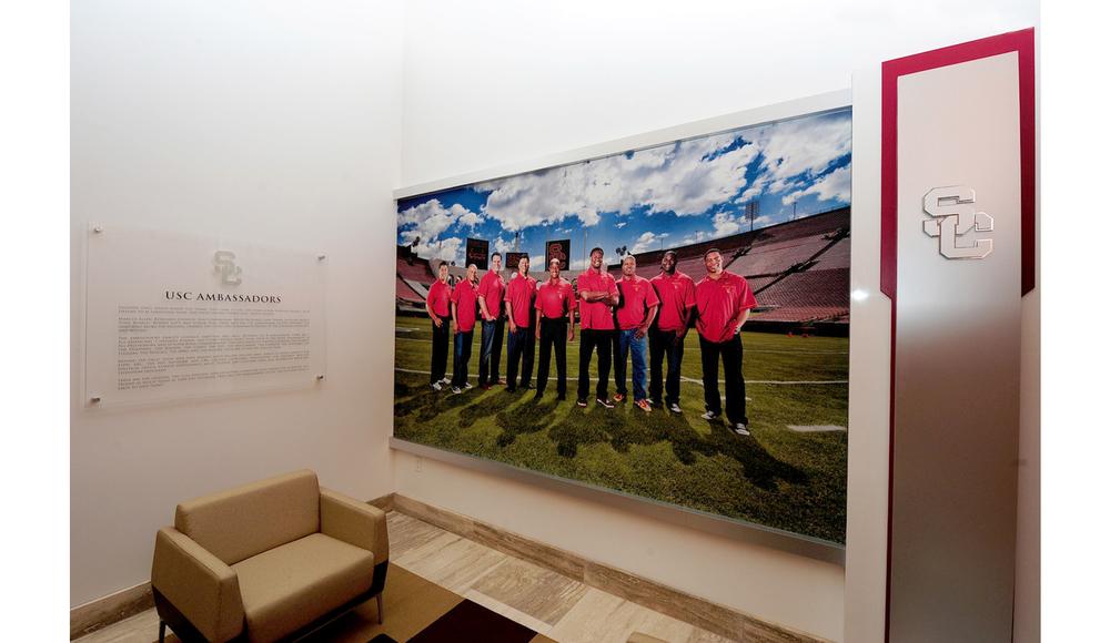 John McKay Center Installation image: USC Ambassadors