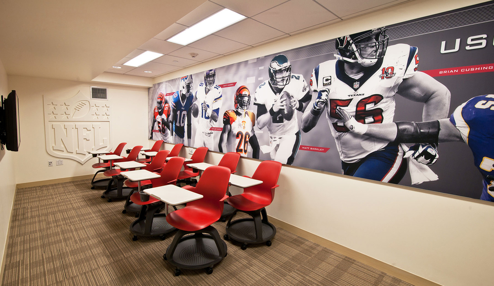 Heritage Hall Installation image: NFL rooms
