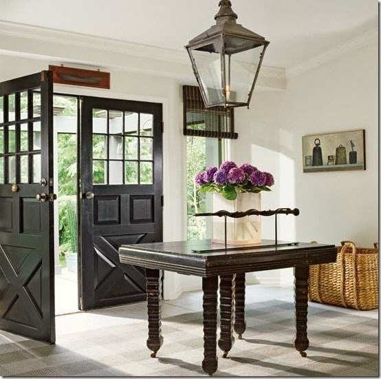 Massive Front Doors (we own a set just like this from an old church in the Beach or Beaches)
