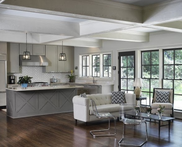 Grey Kitchen (photo linkhere)