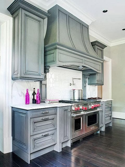 If anybody knows where this picture is originally from please let me know, as I would love to see the rest of this kitchen!