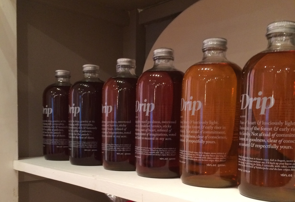 Drip Maple  - 100% Organic Canadian Maple syrup.