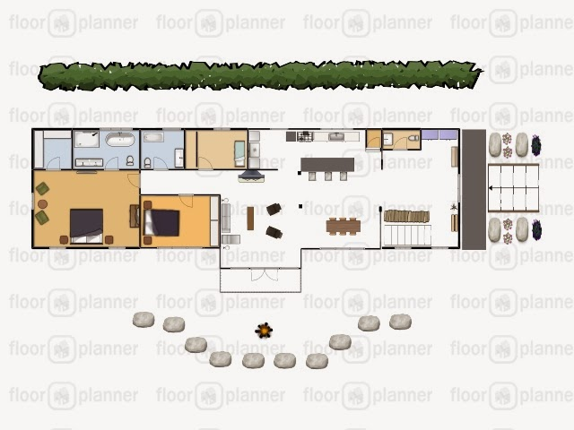 Our initial plan included 2 major additions, adding a master suite, a proper entrance, larger kitchen, and moving the main bathroom further from the kitchen & more centralized to the bedrooms.